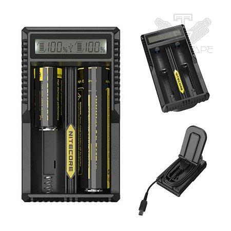 Nitecore UM20 - Carregador inteligente de baterias