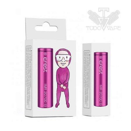 Bateria Efest IMR 20700 30A 3100mAh Purple