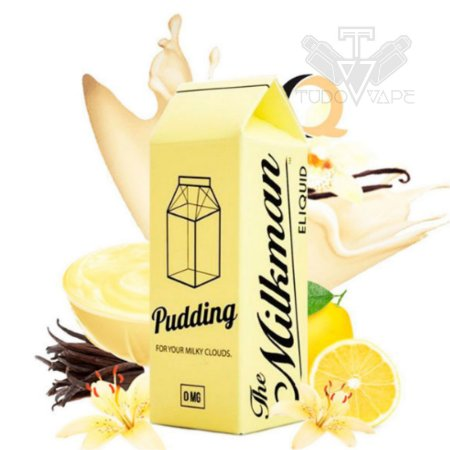 Milkman Pudding 60ml Juice Premium - 0mg / 3mg