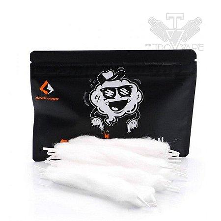 Algodão Feather Cotton 20pcs pré-load 3mm - Geek Vape