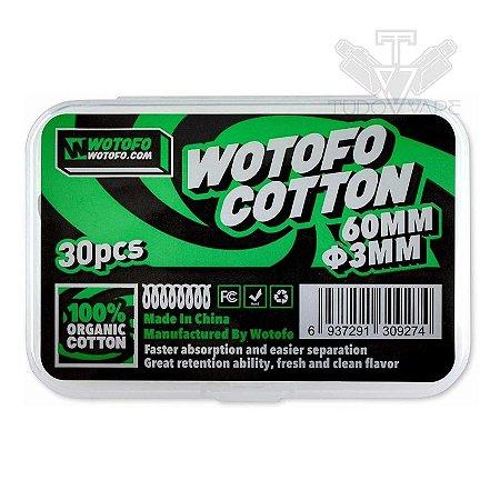 Algodão Wotofo Cotton Ø3mm 30und