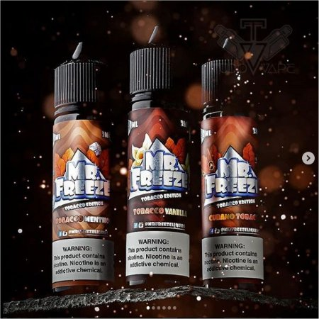 Mr. Freeze 60ml Tabacco edition - 3mg / 6mg UND