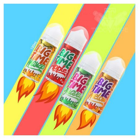 Big Time 120ml!  Apple / Mango / Melon /  - UND
