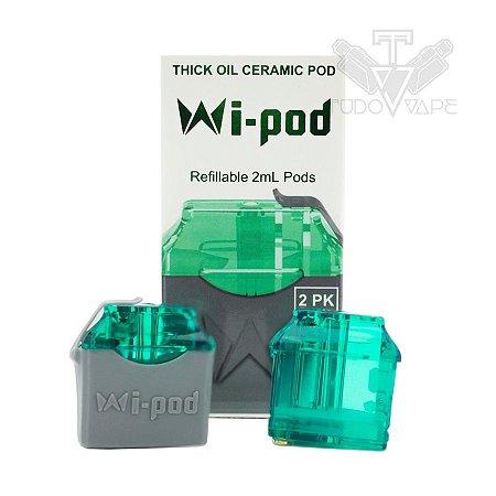 Wi Pod refil ceramic oil 1.2ml - Mi-pod/ wi-pod / wi-pod x - Smoking Vapor