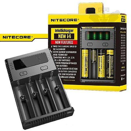Carregador Nitecore New i4 - Bivolt