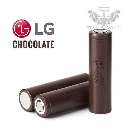 2x Baterias Lg Hg2 Chocolate 3000mAh 18650 + Case plástico
