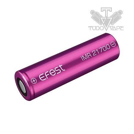 Bateria Efest 3700mAh Tamanho 21700