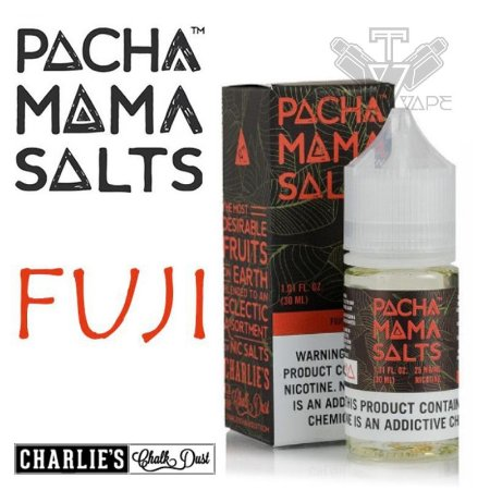 Pacha Mama Salts Sabor Fuji 30ml - 25mg / 50mg - UND