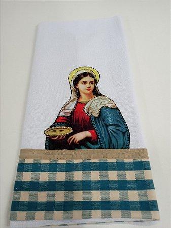 Pano de Prato Santos - Variados  Ref 22 a 31