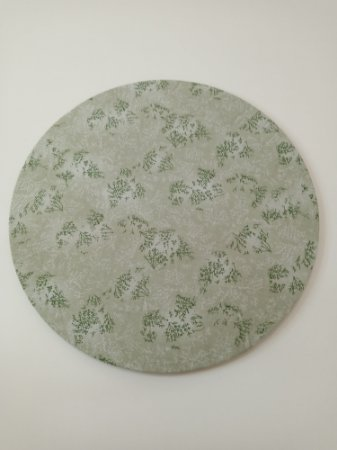 Capa de Sousplat Tricoline verde