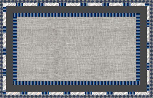 Toalha estampa Listras Azul - Tecido com Impermeabilidade