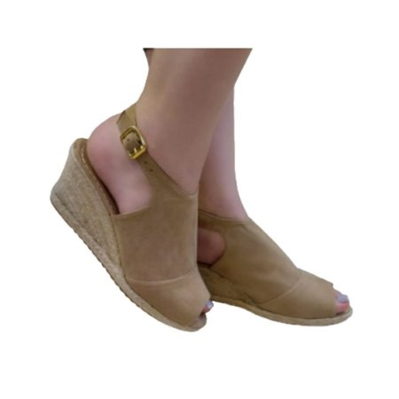 ESPADRILLE ANKLE BOOT SUEDE AMENDOA