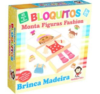 Bloquitos Monta Figuras Fashion