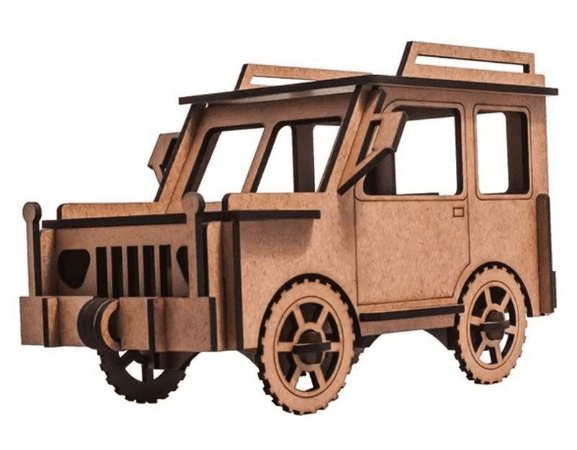 Quebra Cabeça 3D Jeep