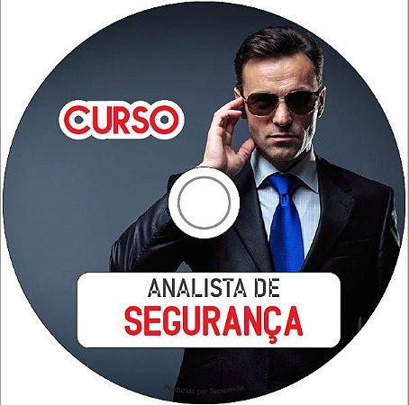 Curso de Analista de Segurança  Privada em DVD