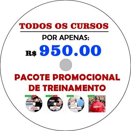 PACOTE PROMOCIONAL DE TODOS OS CURSOS DO SITE