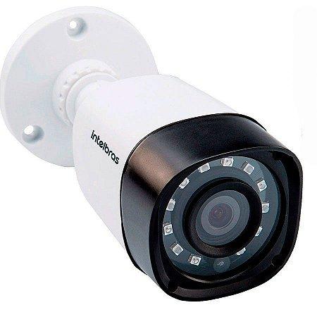 Câmera Bullet Infravermelho Multi HD 4 em 1 Intelbras VHD 1120 B G4 HD 720p 2,6mm - HDCVI, HDTVI, AHD, ANALÓGICO