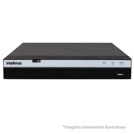 DVR Stand Alone Intelbras MHDX 3108 08 Canais Full HD 1080p Multi HD + 04 Canais IP 5 Mp