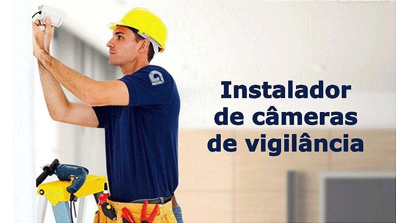 Instalação de Sistema de Segurança - CFTV - Alarme - Porteiro Eletrônico - Cerca Elétrica