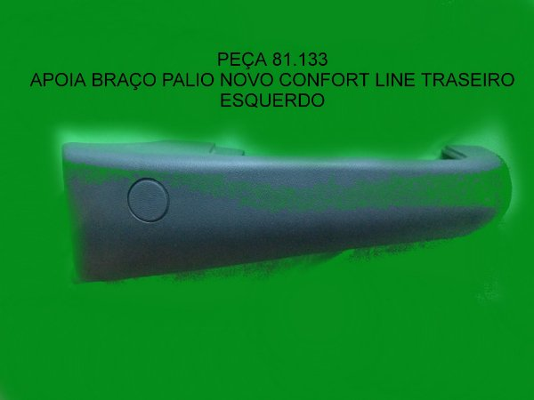 APOIA BRAÇO UNO FIRE 2P 4P DIANT LONGO C/FURO ESQ