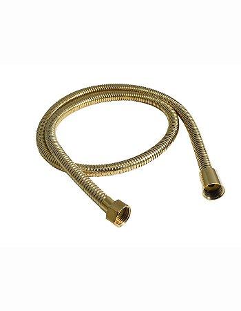 Ligação Flexível para Ducha  DN15X120CM - Dourado