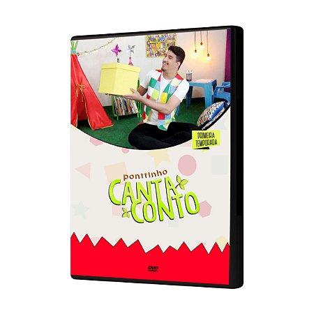 DVD CANTA CONTO (PRIMEIRA TEMPORADA)