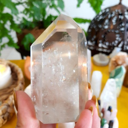 Cristal Gerador Quartzo Phantom Cristal Fantasma G