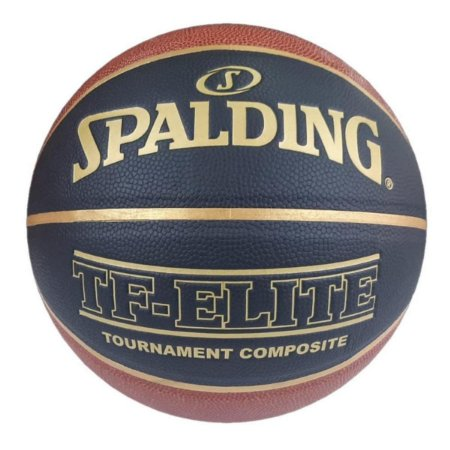 Bola De Basquete Spalding - TF-Elite CBB - Microfibra - Laranja - Indoor/Outdoor