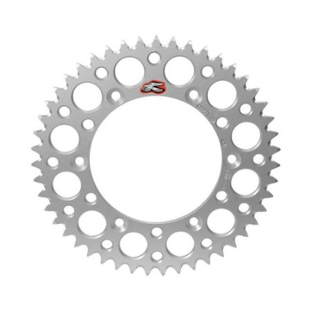 Coroa Renthal Alumínio KTM 60/65 - 420x51 Dentes - Prata