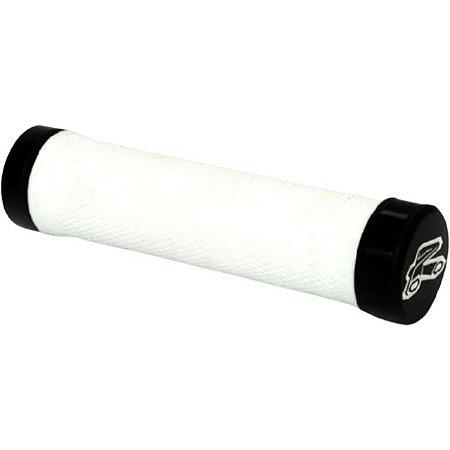 Manopla Renthal Bike MTB Lock-On - Super Comfort - Branca