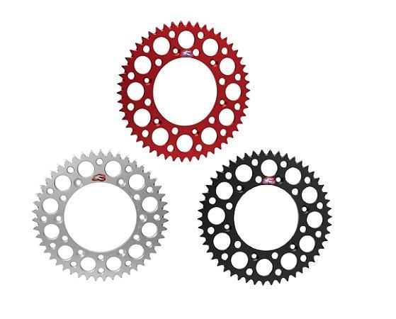 Coroa Renthal Aluminio CR 125/250/F250R/F450R 87/20 + CRF 230 97/19 - 520x51 Dentes