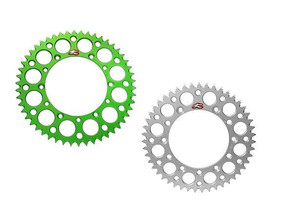Coroa Renthal Alumínio KX 125/250/250F/450F 87/15 - 520x52 Dentes
