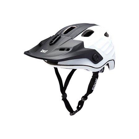 Capacete Bike Kali Maya Duo Matte (60-63cm) - Preto/Branco