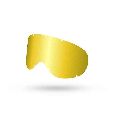 Lente Dragon NFX - Dourada Espelhada
