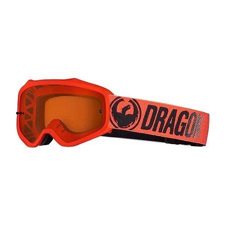 Óculos Dragon MXV Break Vermelho - Lumalens Amber