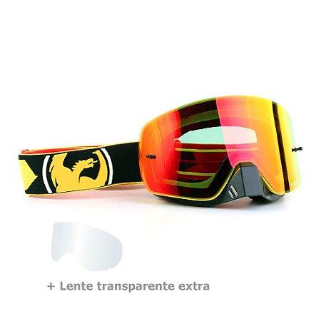 Óculos Dragon NFX-S Rockstar - Lente Vermelha Espelhada + Lente Transparente