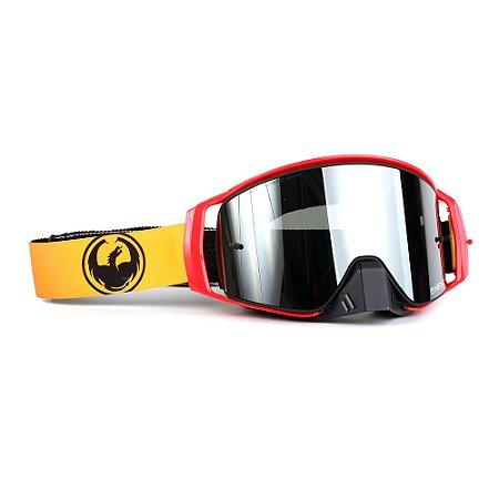 Óculos Dragon NFX2 Jason Anderson Rider - Lente Prata Espelhada +Tear Off Pack + Lens Shield