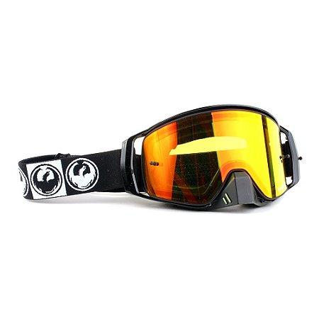 Óculos Dragon NFX2 Podium - Lente Vermelha Espelhada + Tear Off Pack + Lens Shield