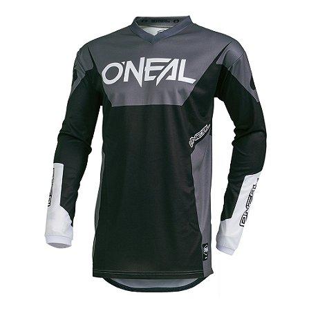 Camisa ONEAL Element Racewear - Preta