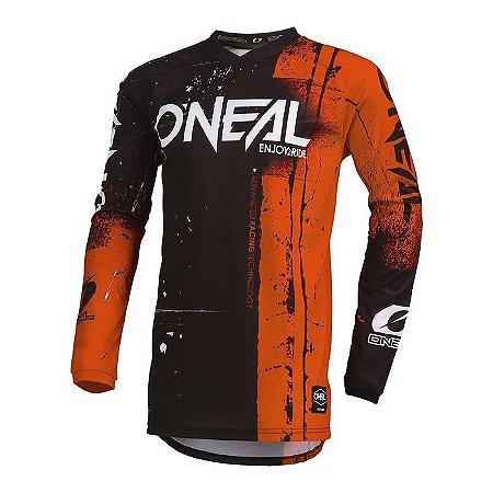 Camisa ONEAL Element Shred - Laranja