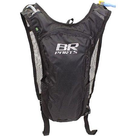 Mochila De Hidratação BR Parts Combat 2 Litros - Preta