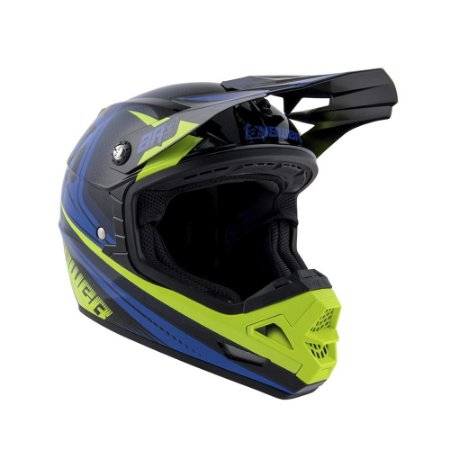 Capacete Answer AR3 Charge - Verde/Azul