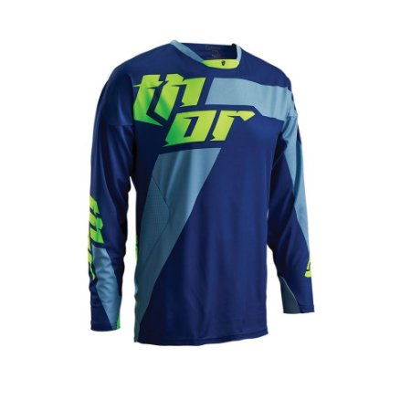 Camisa Thor Core Merge - Azul/Verde