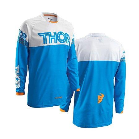 Camisa Thor Phase Hyperion - Azul/Branco