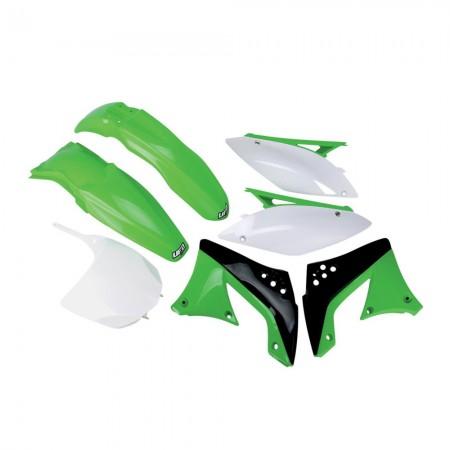 Kit Plástico Ufo KXF 450 09/11 - Original Cor Ano 2010/2011 (Com Number Frontal)