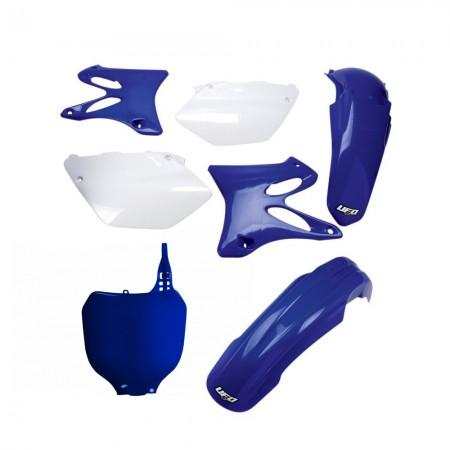 Kit Plástico Ufo YZ 125 02/05 + YZ 250 02/05 - Original (Com Number Frontal)