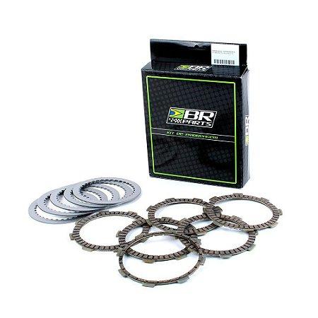 Disco de Embreagem + Separadores BR Parts KTM 450 EXC 04/07 + KTM 450 SX 04/06 + 525 SX/EXC 04/07 + HUSAB FE