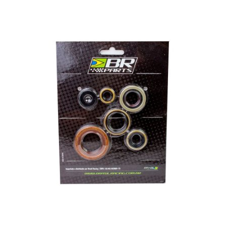 Retentor de Motor Kit BR Parts KX 80 98/00 + KX 85 01/12 + KX 100 98/12