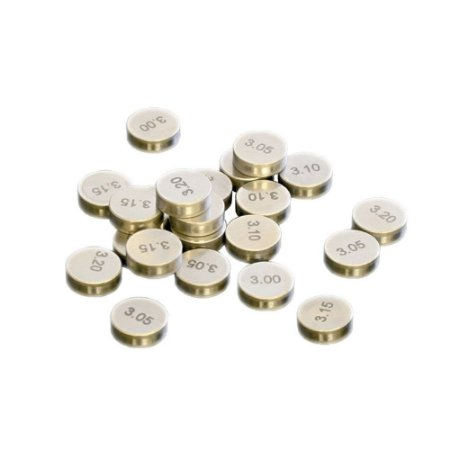 Pastilha De Válvula ProX 450CC - 9.48 X 2.40MM - Pacote c/ 5 peças