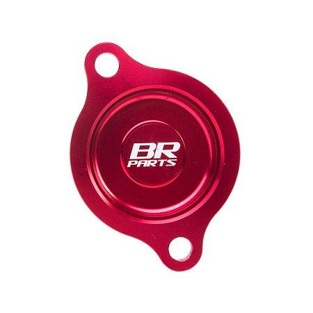 Tampa do Filtro de Óleo BR Parts CRF 250 10/14 - Vermelho